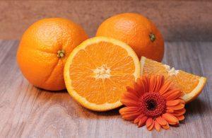 Von der Oberfläche einer Orange abgeleitet: Orangenhaut.