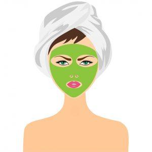 Schwarze Maske gegen Mitesser ist effektiver als andere Masken