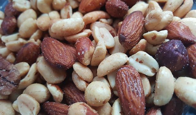 Nüsse als Magnesiumcitrat Alternative