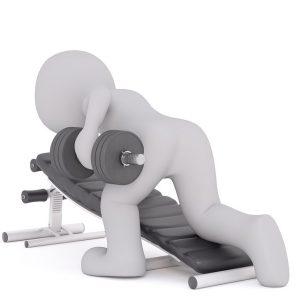 Abnehmen durch Kraftsport