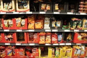 Chips sind fast immer vegan
